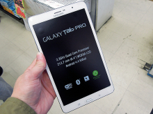 WQXGA液晶搭載の8.4インチタブレットSAMSUNG「GALAXY Tab PRO 8.4」のLTEモデルが発売に!