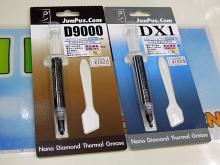 ナノダイヤモンド配合の高熱伝導グリス「JP-D9000」と「JP-DX1」がアイネックスから!