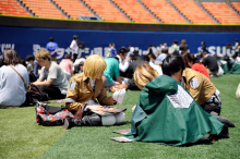 進撃の巨人×リアル脱出ゲーム「ある城塞都市からの脱出」、横浜スタジアムで開幕! 初回の脱出成功者は1,600人中わずか120人