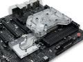 CPU/PCH/VRMをまとめて冷却できるASUS製ハイエンドマザー専用の大型水冷ブロックが発売に!