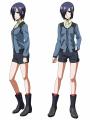 食人怪人アニメ「東京喰種トーキョーグール」、キャラ設定画を公開! まずは主人公・金木研ら3名