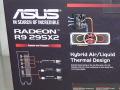 Radeon R9 295X2搭載カードがASUSからも! 「R9-295X-8QFA」発売