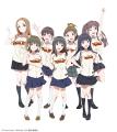 TVアニメ「Wake Up, Girls!」、東北楽天とコラボでナイターを開催! 声優7人がKoboスタジアム宮城でウグイス嬢に挑戦