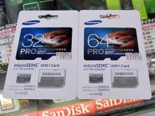 リード最大90MB/sのSD/microSDカードがSAMSUNGから!