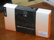 外部8chタイプの12Gbps SAS/SATA対応RAIDカードがLSIから発売に!