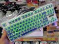Cherry青軸採用のLED付きキーボード「DN-11255」が、上海問屋から!