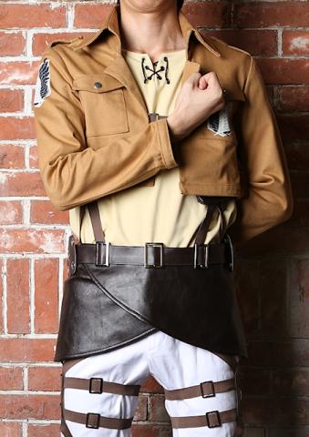 「進撃の巨人」、調査兵団(エレンver.)の手頃な公式コスプレ衣装セットが登場! インナーを含めフルセットで約1.4万円