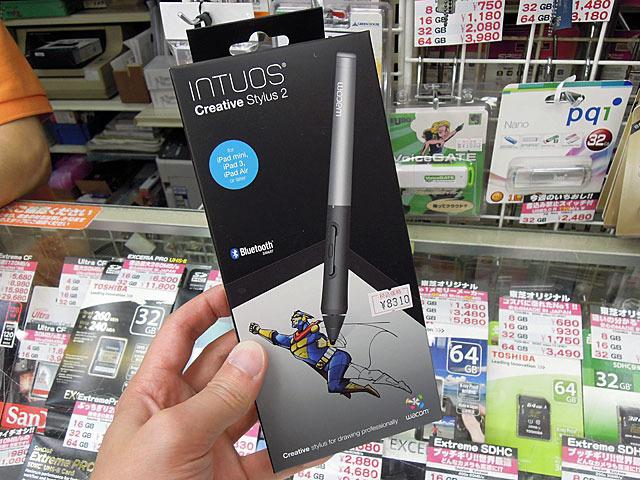 2,048段階の筆圧を感知するiPad向けスタイラスペン「Intuos Creative Stylus 2」が登場!