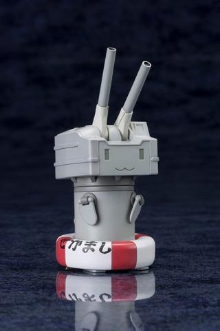 「艦隊これくしょん~艦これ~」の人気マスコットキャラクター「連装砲ちゃん」プラモデル、2015年1月発売