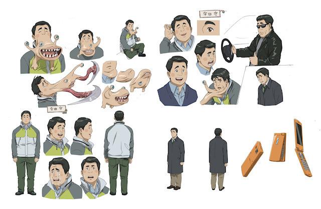 TVアニメ版「寄生獣」、宇田守など新キャラの設定画とキャストを発表! 転校生・島田秀雄は石田彰