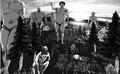 「進撃の巨人」、巨人風似顔絵を生成できるモンタージュアプリが登場! 人間を捕食したり調査兵団と戦う姿を動画で観賞可能