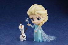 アナと雪の女王、フィギュア「ねんどろいど エルサ」予約受付開始! 雪だるま「オラフ」は首と腕が可動