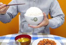 ハピネスチャージプリキュア!、弁当屋「おおもりご飯」の大盛り専用どんぶりを商品化! 食べ終わるとキュアハニーが登場