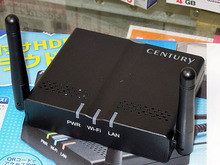 USBストレージをクラウド化するアダプタ センチュリー「USB HDD活かしてCloud」が来週発売