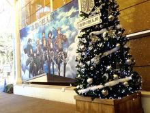 「進撃の巨人展」、2015夏秋に大分と大阪でも開催! 上野にはクリスマスツリーやリヴァイ誕生日ケーキが登場