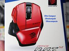ビジネス用途向けのコンパクトなBluetoothマウスがマッドキャッツから! 「Office R.A.T.M」発売