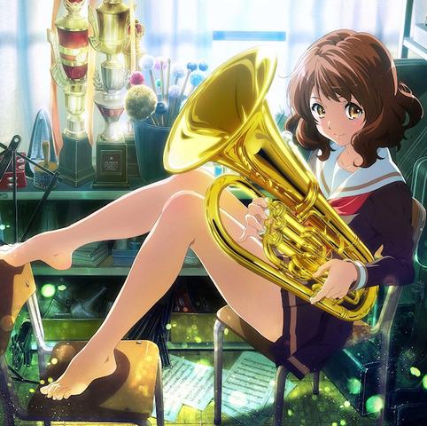 「響け!ユーフォニアム」、京アニが2015年4月にTVアニメ化! 高校の吹奏楽部を舞台にした青春物語