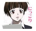 「サイコパス」、TVアニメ第1期のキャラがLINEスタンプに! 槙島聖護「既読…」など40種類