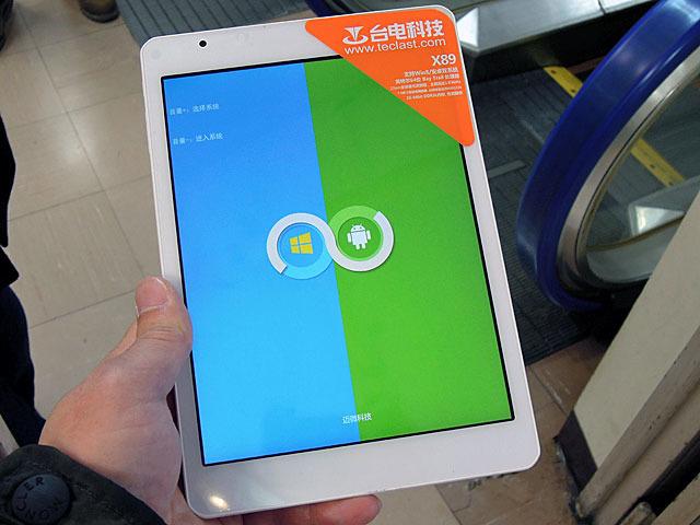 Win8.1/Androidのデュアルブート対応タブレット3モデルがTeclastから!