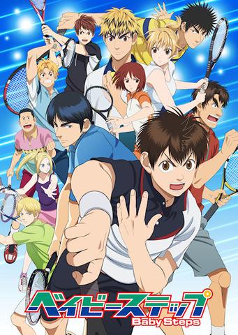 リアルテニスアニメ「ベイビーステップ」、フロリダ留学から始まる第2期は4月5日より全25話! 新キャストに神谷浩史と潘めぐみ