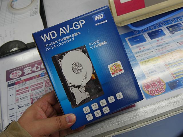 WesternDigitalのビデオ録画向け3.5インチHDDの最大容量モデル「WD40EURX」が発売に!