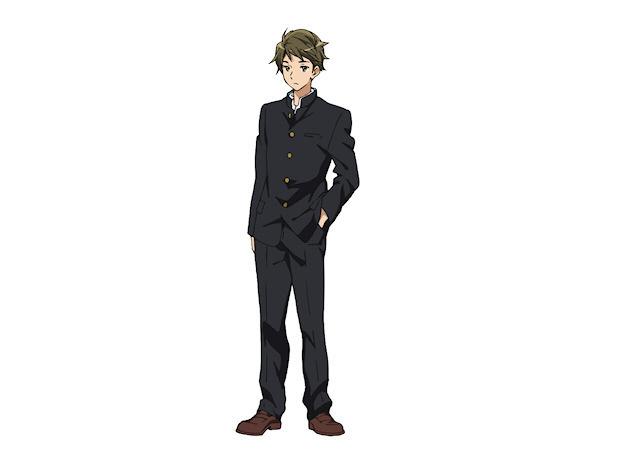 塚本 秀一 (つかもと しゅういち) 高校1年生。 久美子の幼馴染。 中学ではホルンを担当していたが、 高校ではトロンボーンを担当する。  【担当楽器:トロンボーン】