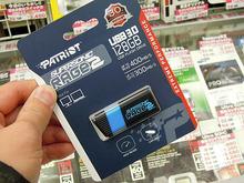 リード400MB/sの高速USB3.0メモリPatriot「Supersonic Rage 2」シリーズが登場!