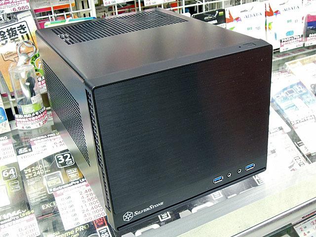 e9fed8201b 水冷キットやATX電源を搭載可能なMini-ITXケースSilverStone「SST-SG13B ...