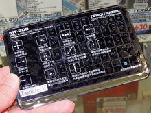 タッチパッド機能付きの小型ワイヤレスキーボード「MT-200」がLongtechから!