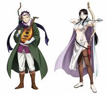 春アニメ「アルスラーン戦記」、キャスト第2弾を発表! KENNと坂本真綾