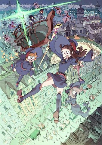 「リトルウィッチアカデミア 魔法仕掛けのパレード」、2015年内に劇場公開! トリガーによるオリジナル短編アニメの続編