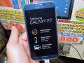 自撮り機能搭載のエントリー向けスマホSAMSUNG「GALAXY E7」が登場!