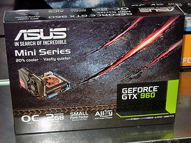 カード長170mm&OC版GeForce GTX 960/970ビデオカードがASUSから!