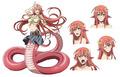 夏アニメ「モンスター娘のいる日常」、スタッフとキャストを発表! 下半身が蛇のラミア族・ミーアには雨宮天