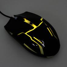 LEDライト&解像度切り替え機能搭載の光学式マウスが上海問屋から!