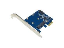 PCI Express x1接続のmSATA/SATA増設カード「DN-12722」が上海問屋から!