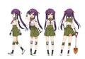 夏アニメ「がっこうぐらし!」、キャラ設定画を公開! かわいらしいタッチの学園サバイバルホラー