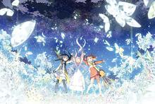 オリジナルアニメ映画「ガラスの花と壊す世界」、ストーリーやキャラ設定を発表! 3人の少女の物語か