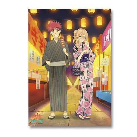みんなのくじ「食戟のソーマ」、9月上旬に発売! 景品は薙切えりなフィギュアや描き下ろしクリアポスターなど全18種
