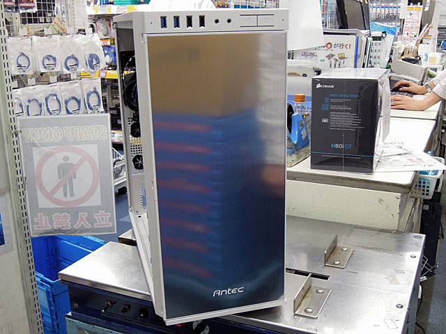Antecの静音PCケースのホワイトモデル「P100 White」が登場!