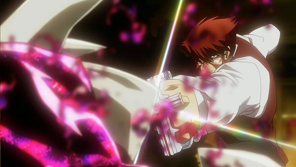 TVアニメ「血界戦線」、第9話のあらすじと先行場面写真を公開! 墜落した飛行機から姿を現したのはザップの弟弟子