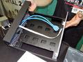 ID-COOLING製Mini-ITXケース「SILENCER-ITX」が今週末限定でサンプル展示中