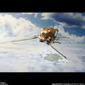 「天空の城ラピュタ」、空中海賊団の小型飛行機「フラップター」がフィギュア化! 4枚の羽根が羽ばたくギミックを搭載した精巧モデル