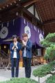 オリジナルTVアニメ「Dance with Devils」、東京大神宮でヒット祈願の祈祷式! 斉藤壮馬と羽多野渉も参加