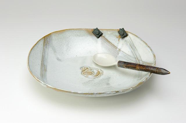 ガルパン、笠間焼カレー皿&スプーンをイベント「艦艇公開in大洗」で数量限定販売! スプーンは徹甲榴弾型