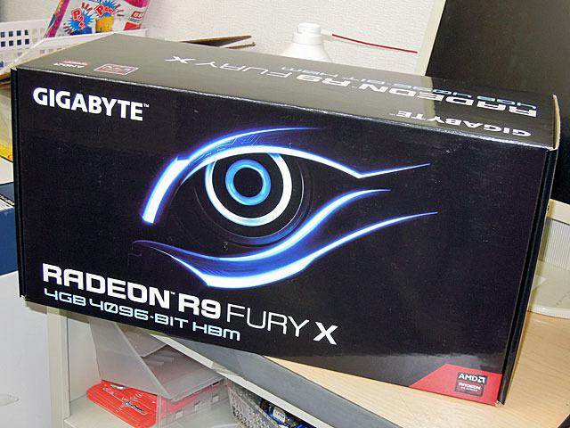 Radeon R9 Fury X搭載ビデオカード「GV-R9FURYX-4GD-B」がGIGABYTEから!