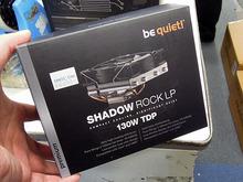 コンパクトなTDP130W対応CPUクーラー「SHADOW ROCK LP」がbe quiet!から!