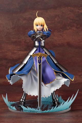 Fate/stay night[UBW]、騎士王 セイバーの1/7フィギュアがコトブキヤから! 剣突き立てポーズ