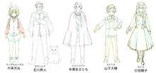 新シリーズ配信中の「ヘタリア」、新キャラクター5人のキャストを発表! 石川界人、山下大輝、日笠陽子など
