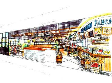ヨドバシアキバ、10月上旬にフードコートがオープン! 「ライブフードマーケット 秋葉原ヨドバシ店(仮称)」